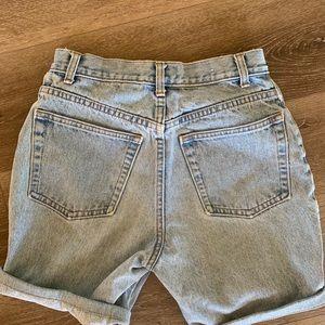 Vintage High Waist Slim Fit Gap Jean Shorts